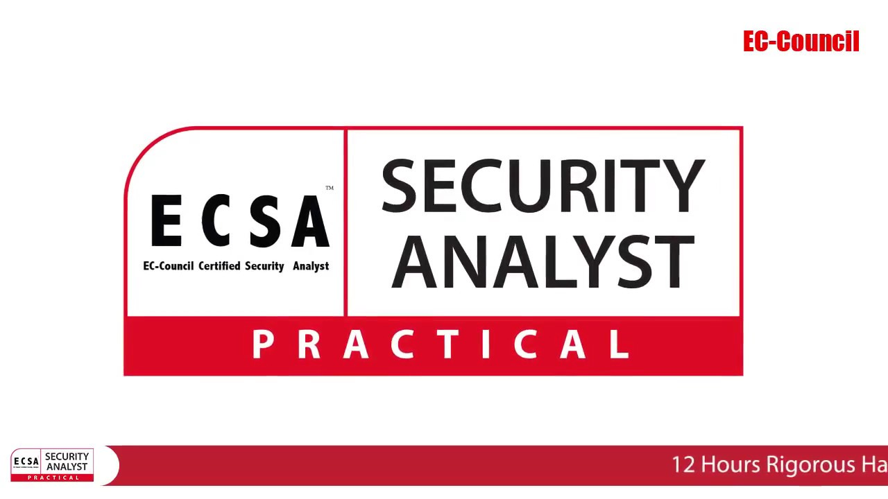 Certified Security Analyst/Licensed Pentester (ECSA) (Practical)